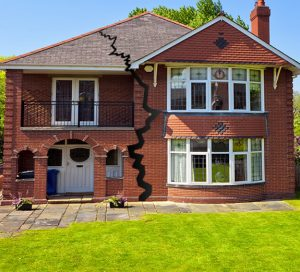 Latent defects caused by subsidence